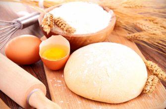 Чем отличается сдобное тесто от несдобного?