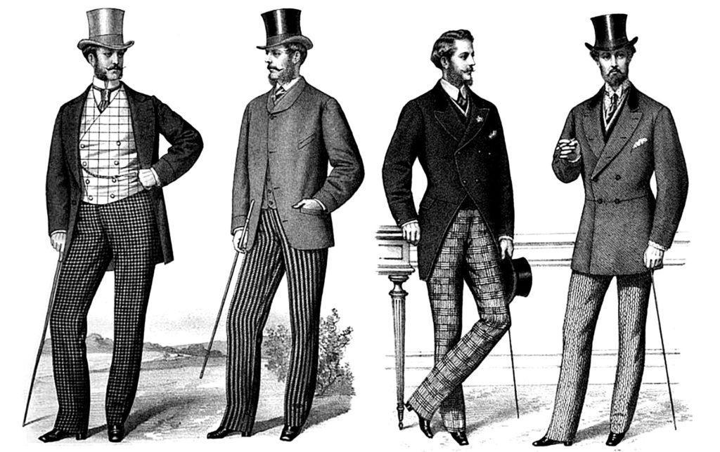 Английская мода 18-19 вв.