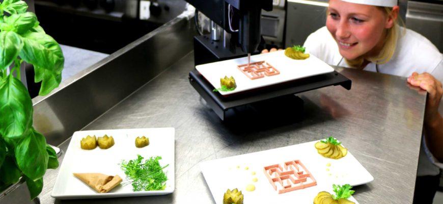 Создан автономный цифровой повар для 3D-печати и приготовления еды