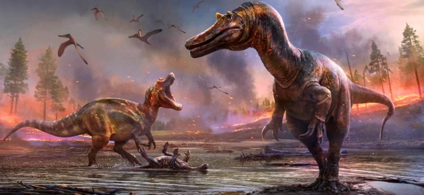 Обнаружены два новых вида крупных хищных динозавров