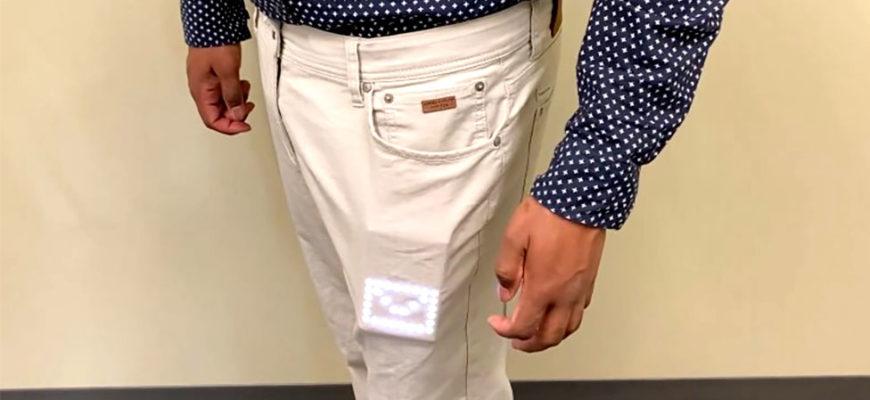Разработаны умные дисплеи, отображающие информацию через ткань