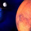 Видна ли Луна с Марса?