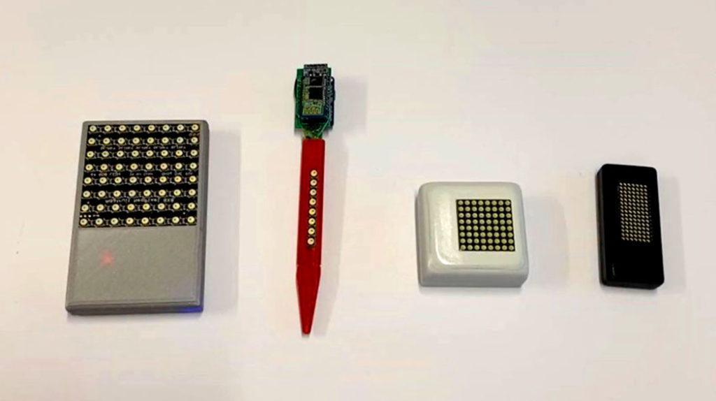 Прототипы умных дисплеев в разных формах