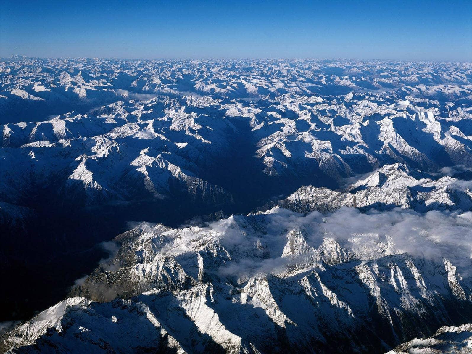 Как образуются горы Простые ответы на сложные вопросы  Гималаи складчатые горы