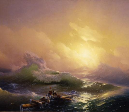 И.Айвазовский - Девятый вал. 1850 Холст, Масло. Санкт-Петербург, Государственный Русский музей
