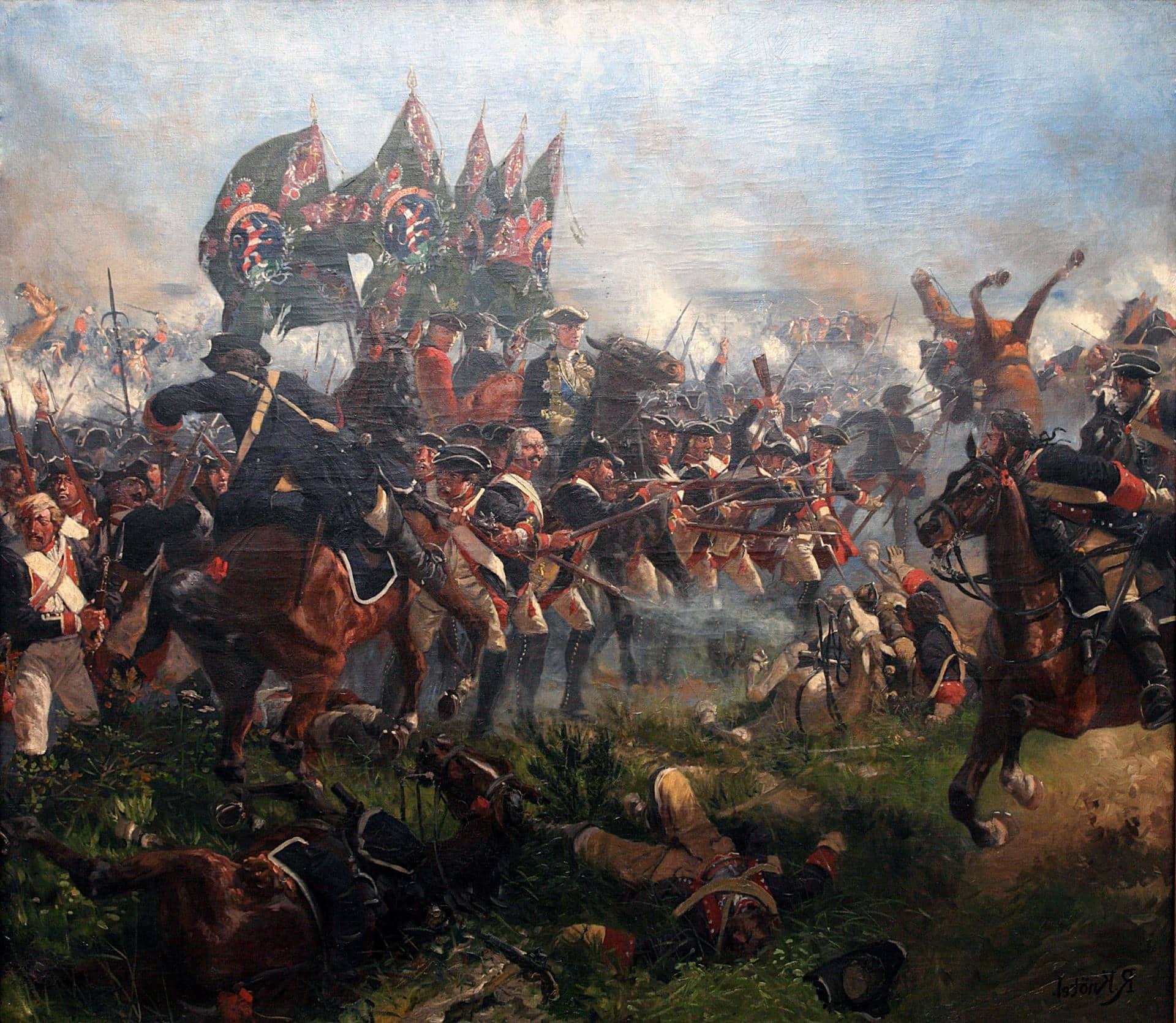 Семилетняя война фото с надписью