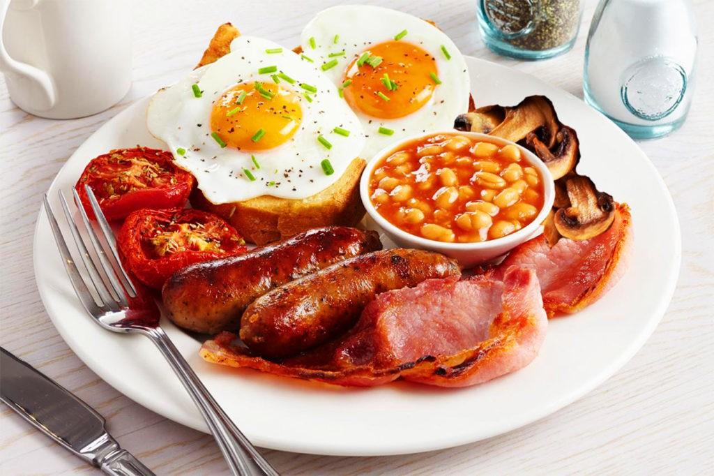 Полный английский завтрак (full english breakfast)