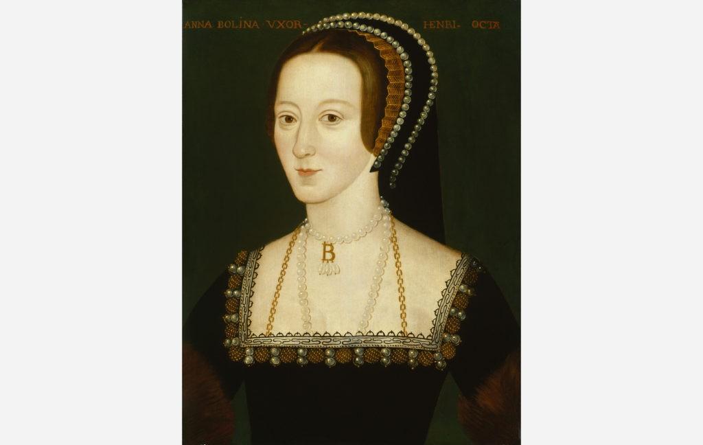Анна Болейн. Портрет работы неизвестного художника, ок. 1533—1536 гг.