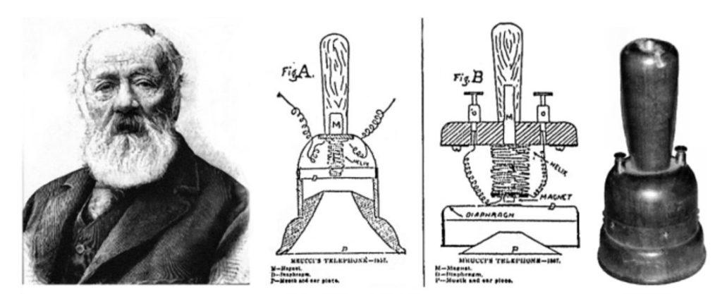 Антонио Меуччи и Teletrofono