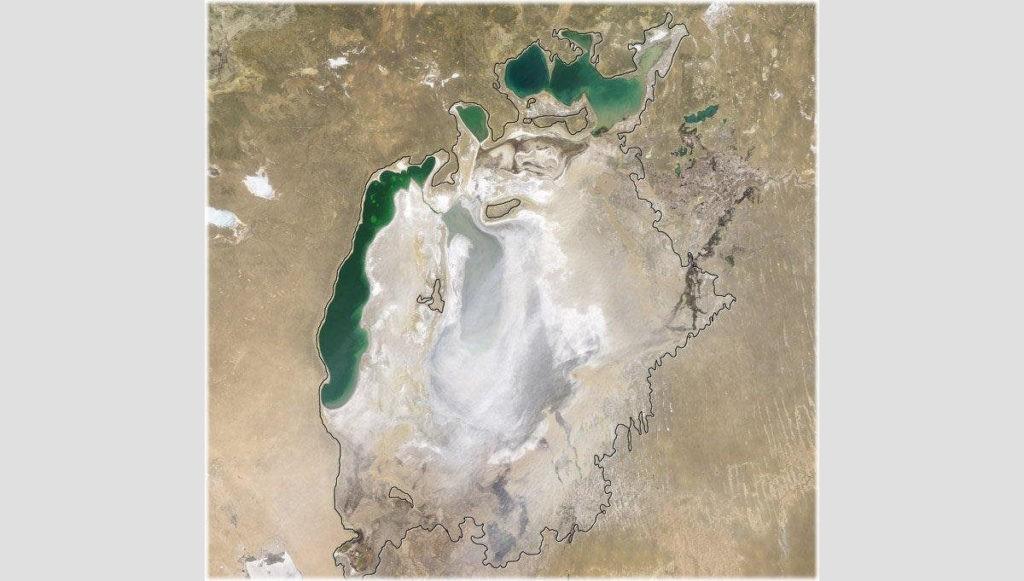 Аральское море сейчас