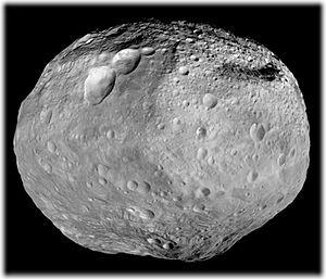 Гигантский астероид Веста