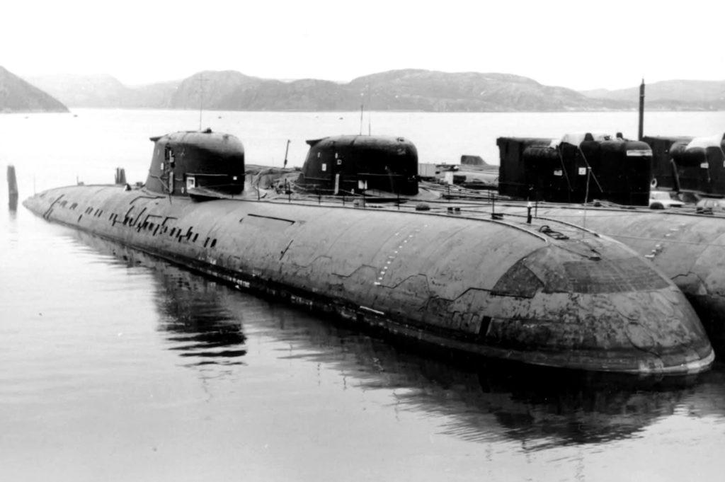 Атомная подводная лодка СССР