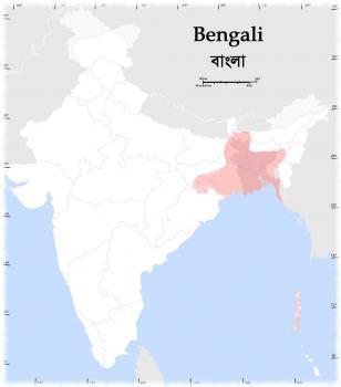 Распространение бенгали