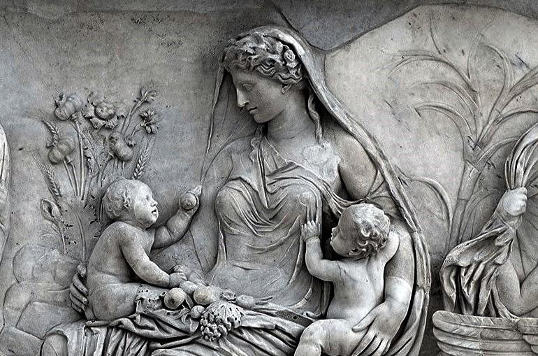 Римская богиня Гея