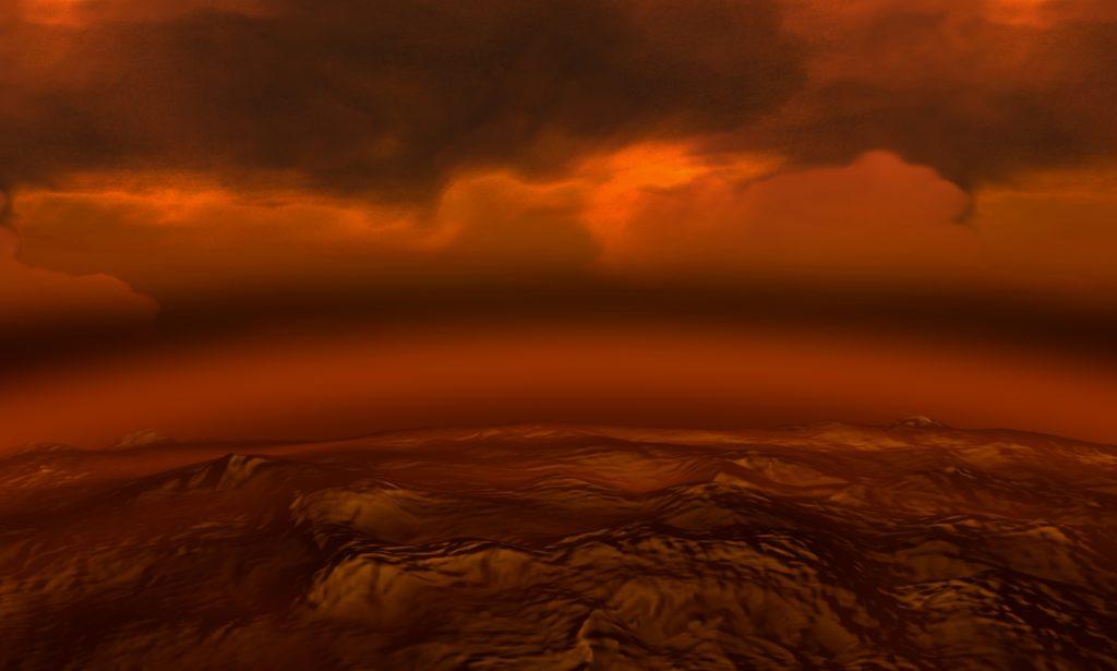 Искусственная модерация облаков Венеры