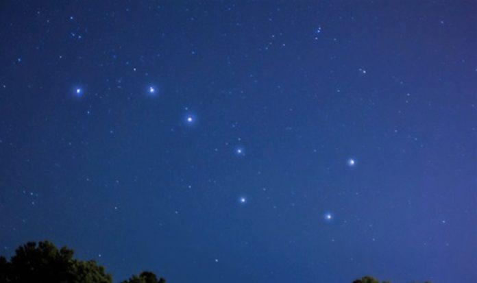 Большая Медведица созвездие, сколько звезд, их названия, легенда, как выглядит, схема созвездия, фото и видео