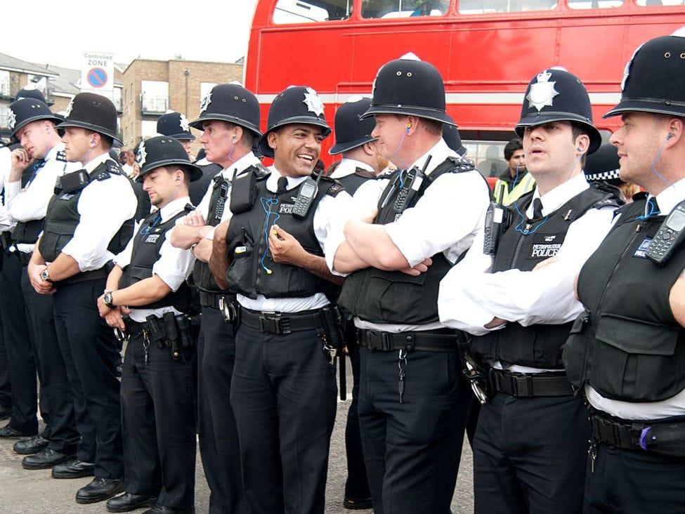 Современная полиция Англии
