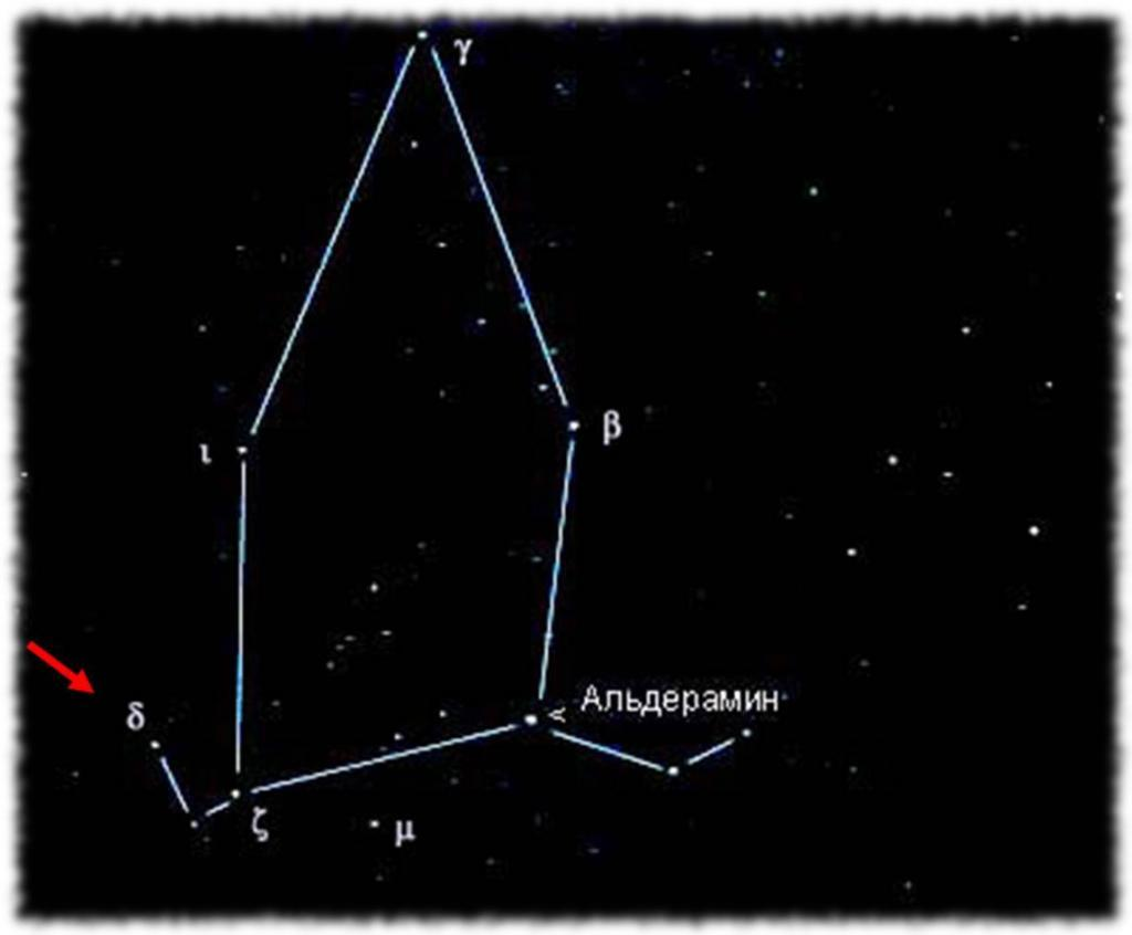 Созвездие Цефея