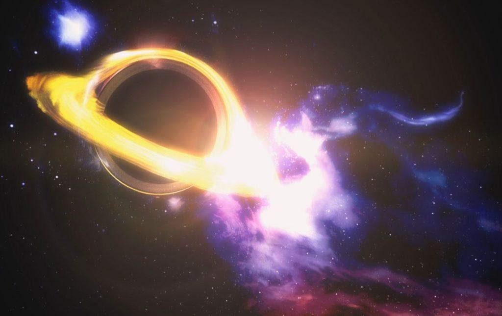 Черная дыра звездной массы
