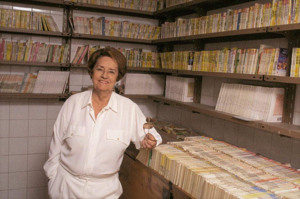 Испанская писательница Корин Тельядо