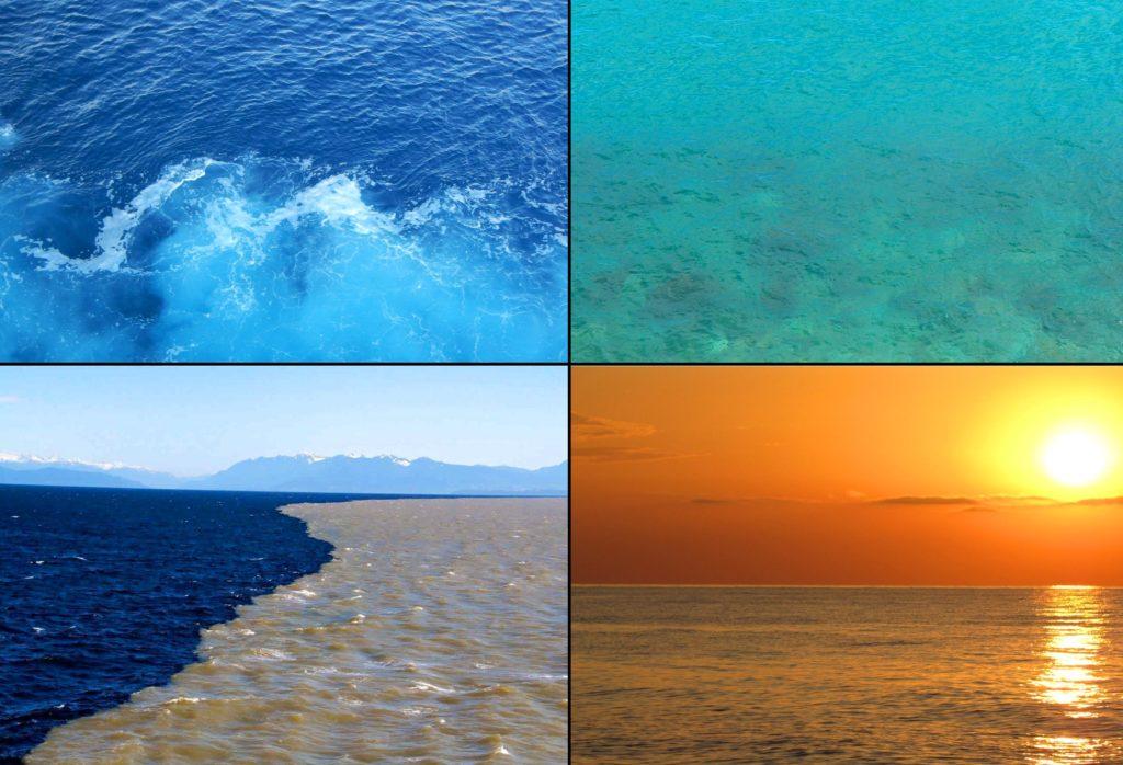 Цвета морской воды