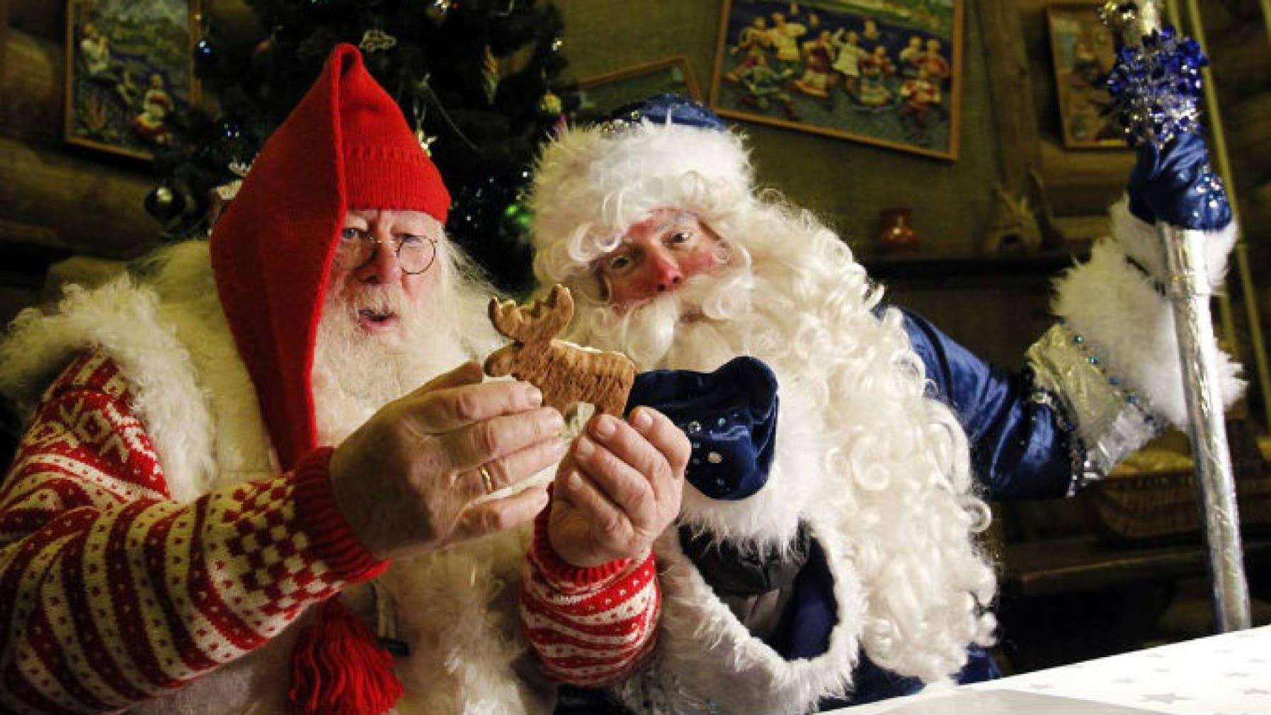 Почему в России Дед Мороз а на Западе Санта Клаус?