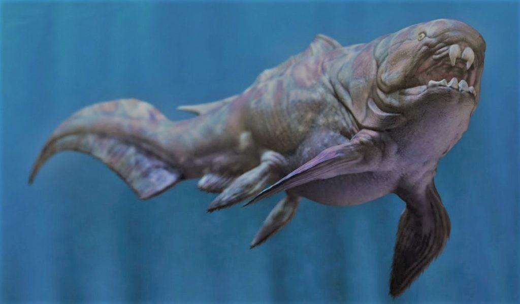 Дунклеостей - крупнейшее существо своего времени