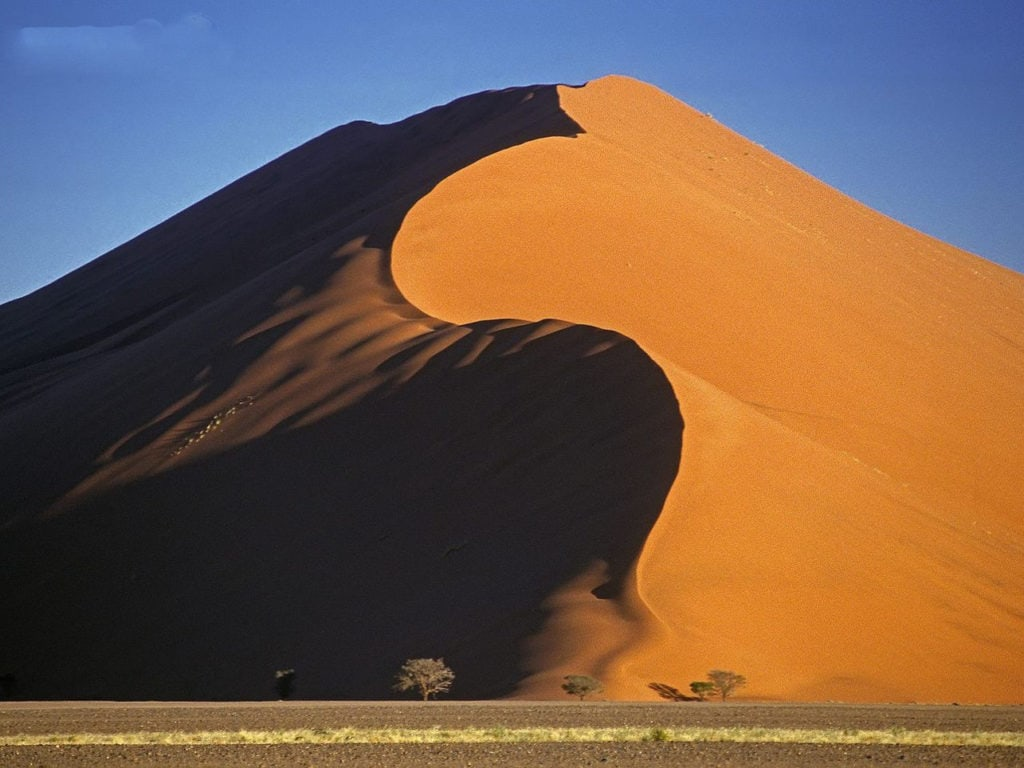 Дюны в пустыне Намиб