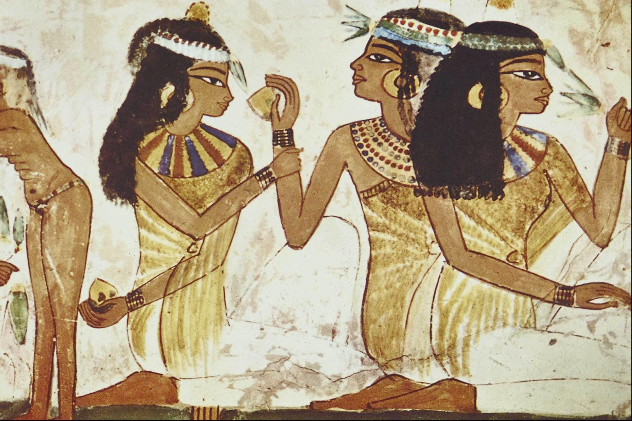Древние египтяне и красота