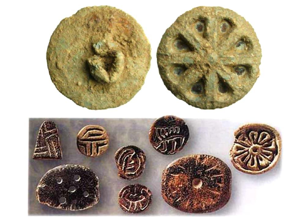Древние пуговицы - археологические находки
