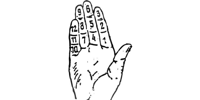 Дюжина на пальцах