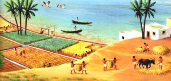 Возделывание почв Нила