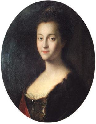 Екатерина после приезда в Россию, Луи Каравак
