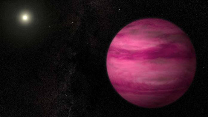 Астрономы открыли планету за пределами Солнечной системы, имеющую странную орбиту