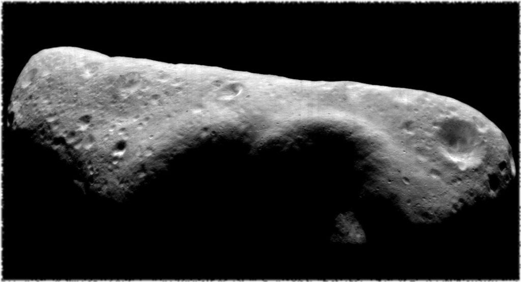 Изображение южного полушария Эроса.