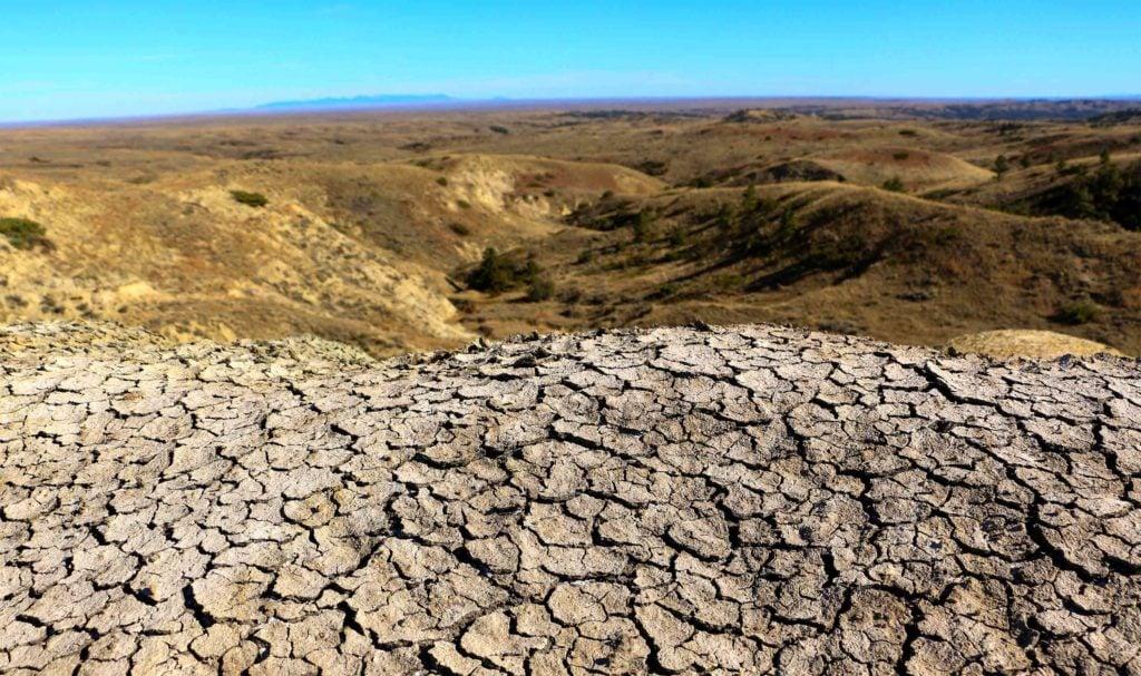 Ветровая эрозия почвы