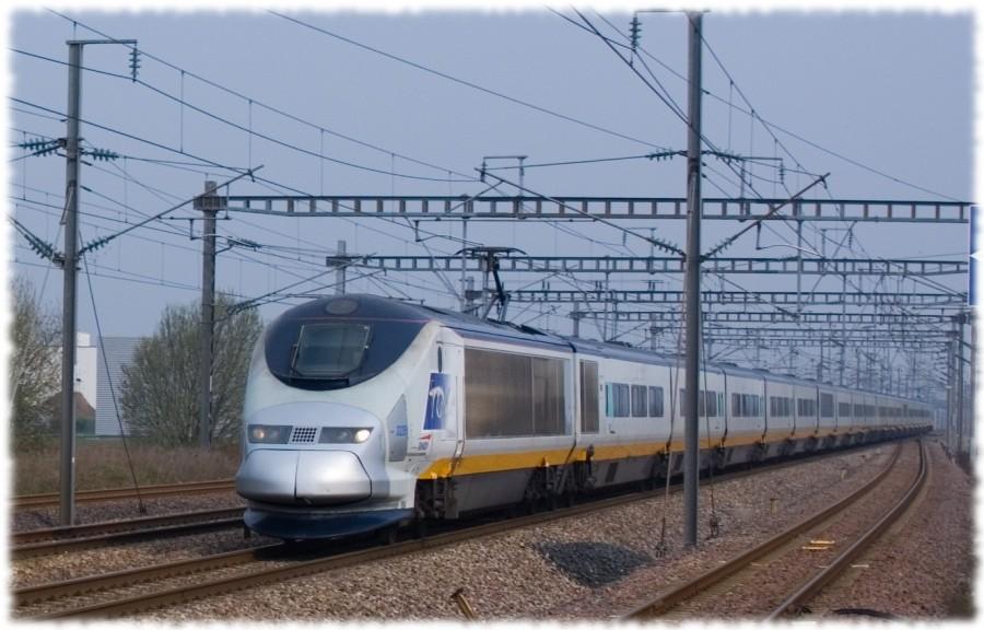 Eurostar BRITISH RAIL Class-373