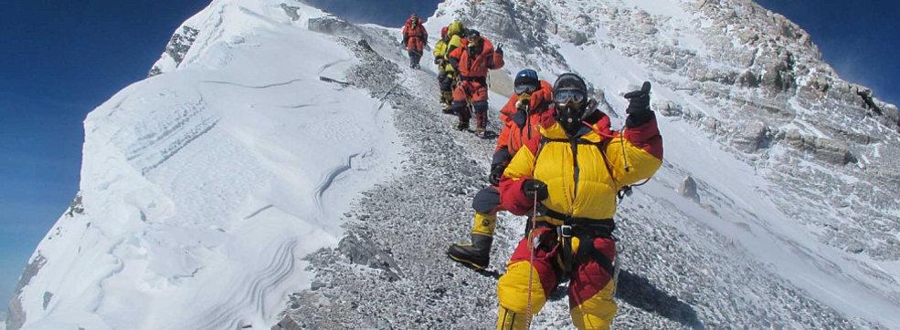 Эверест как объект альпинизма