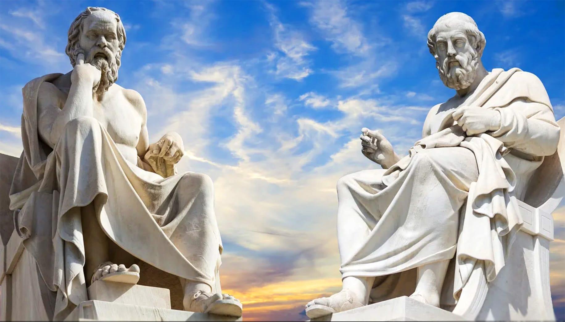 Скульптуры древнегреческих философов