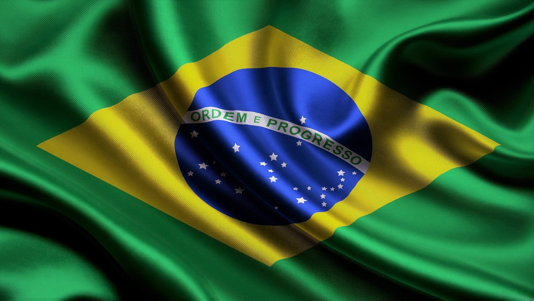 Что символизирует бразильский флаг?