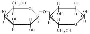 Формула лактозы