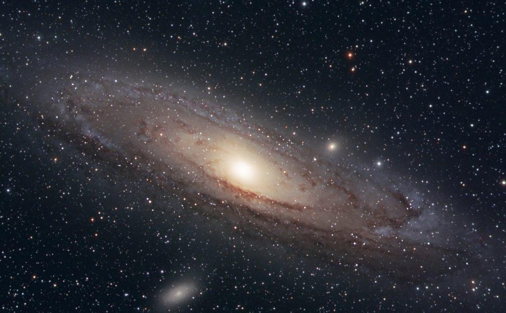 Млечный путь имеет форму диска