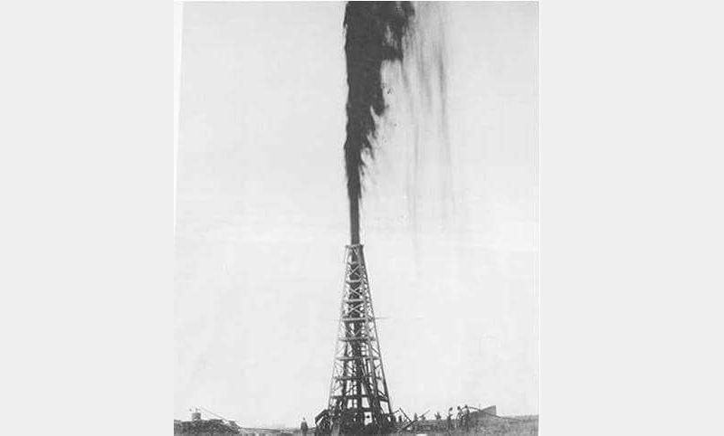 Фонтанный способ добычи нефти