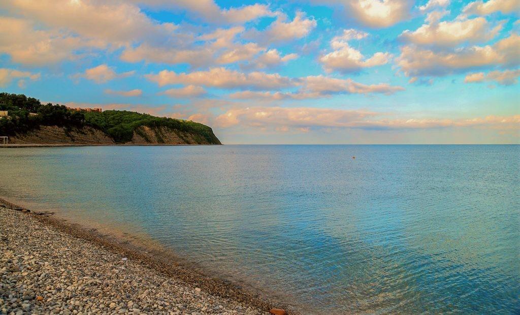 Фото Черного моря с берега