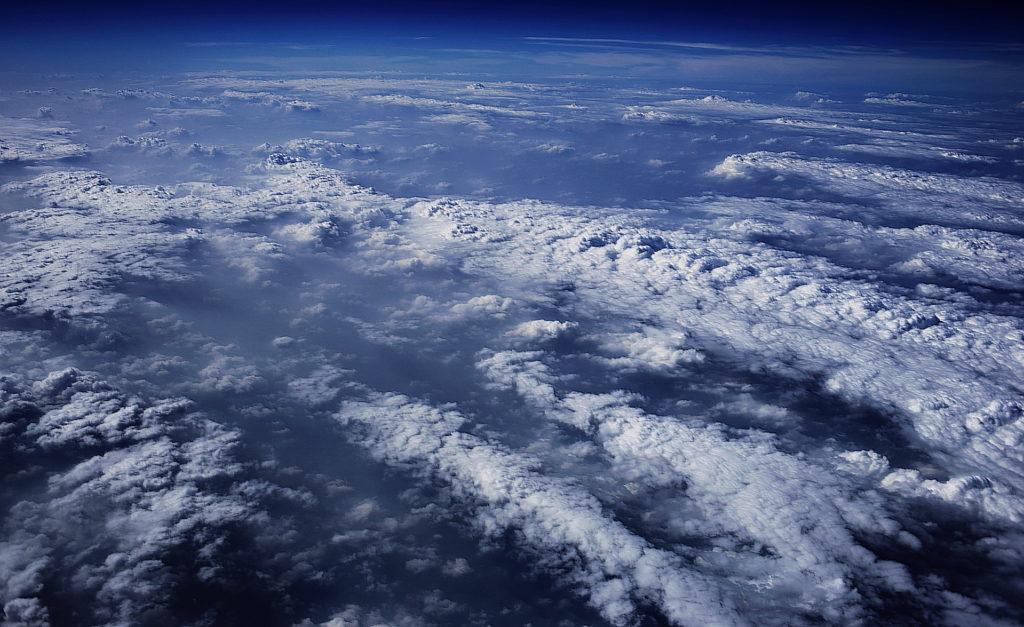 Фото атмосферы из космоса