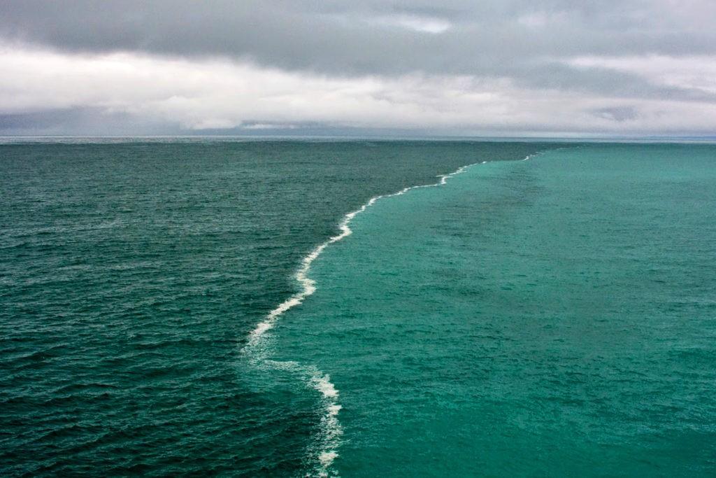 Граница между Северным и Балтийским морем