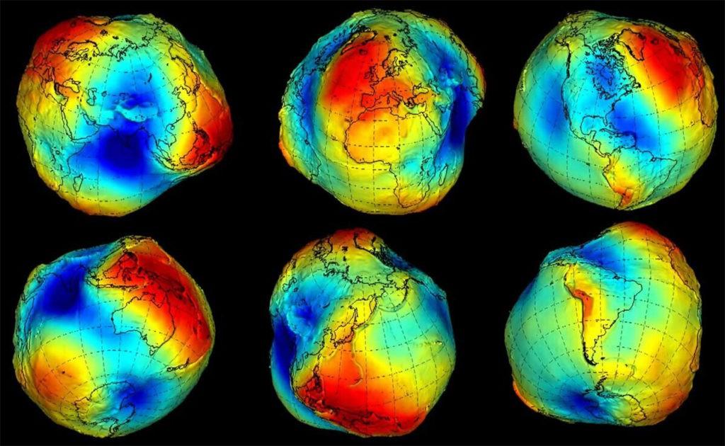 Примерная форма Земли