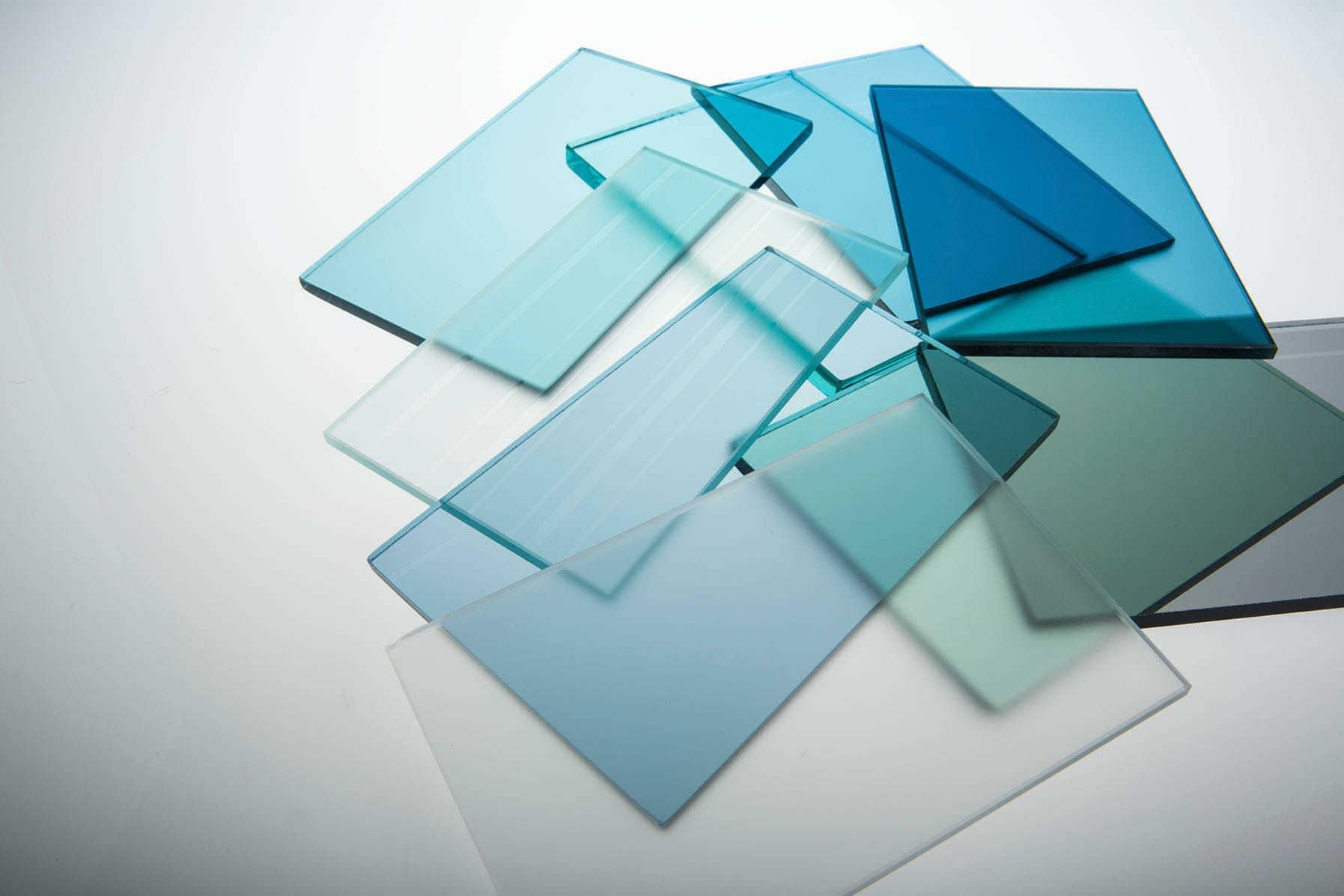 Как делают стекло
