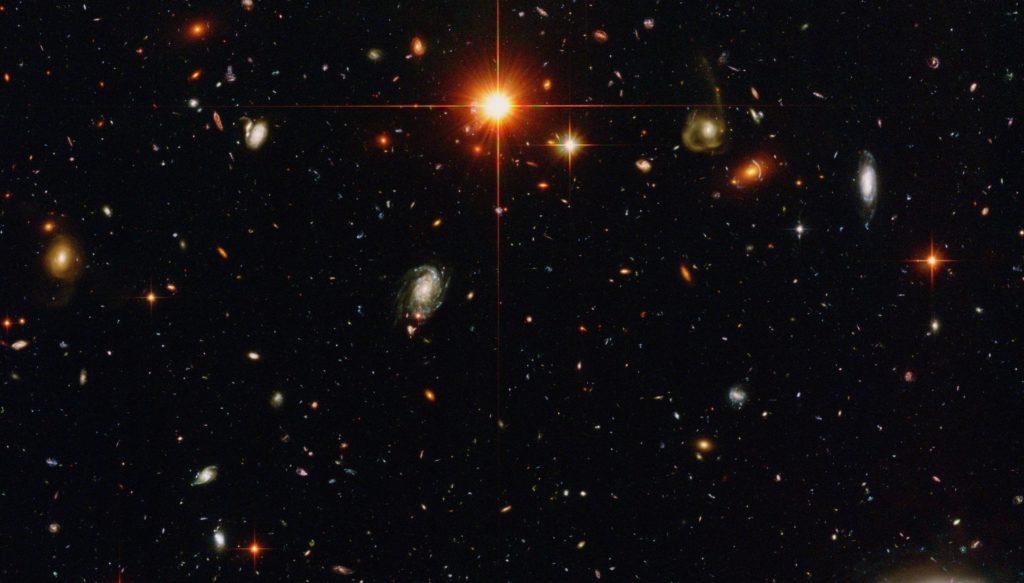 Один из вариантов изображения галактического парада