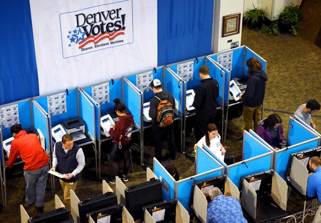 Всеобщее голосование в США